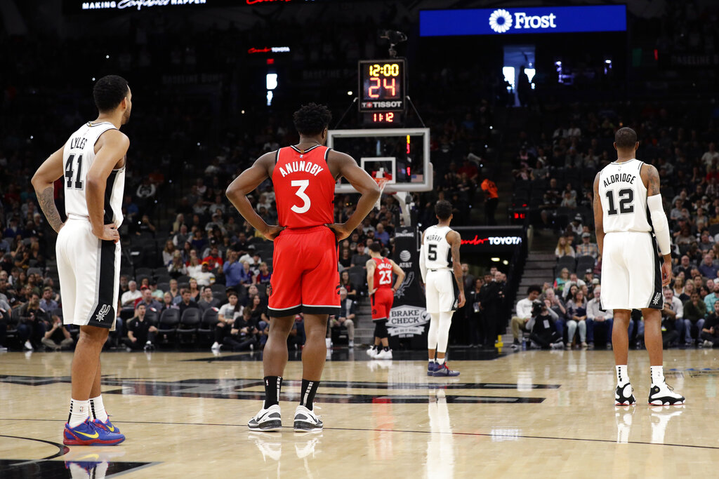 Raptors Spurs Obit Bryant Basketball
