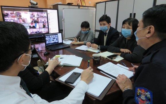 Нийслэлийн эрүүл мэндийн байгууллагын удирдах ажилтны цахим хурал боллоо