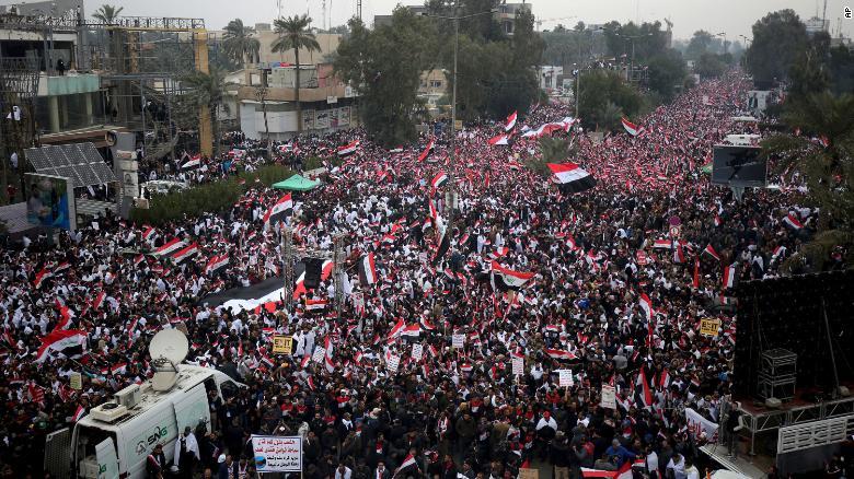 Иракт болсон бослогын үеэр 12 хүн амиа алджээ