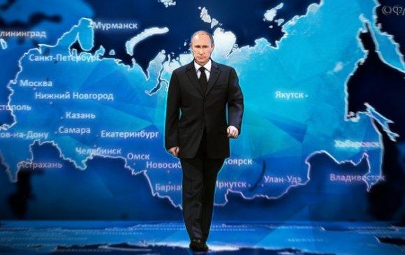 Путины сюрпризийн ар дахь эрх мэдлийн хуваарилалт