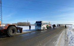 ОХУ-д осолдсон автобусанд 45 монгол байжээ