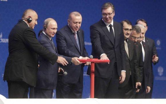 Путин, Эрдоган нар хий дамжуулах шинэ хоолойг нээв