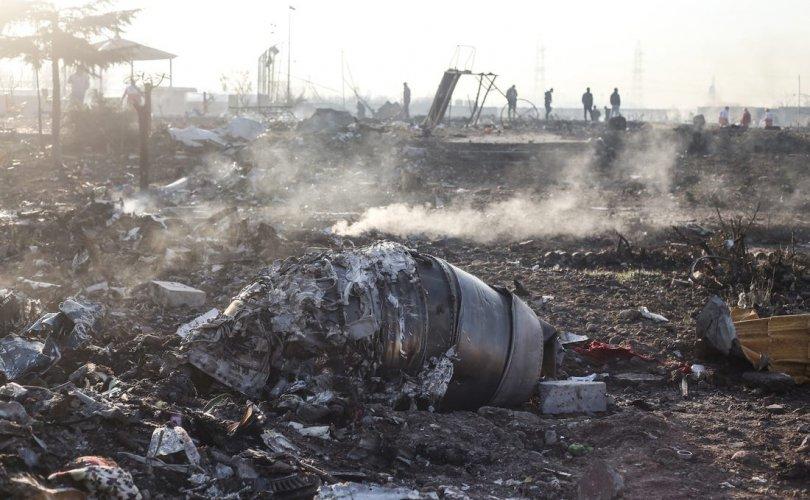 Украины онгоц сүйрч буй бичлэг хийсэн хүнийг баривчилжээ