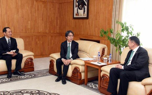 УИХ-ын дэд дарга Л.Энх-Амгалан Элчин сайд Кобаяши Хироюкиг хүлээн авч уулзав
