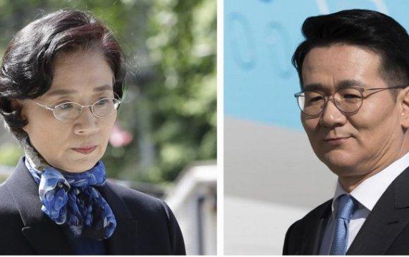 """""""Korean Air""""-ийн захирал ээжтэйгээ маргаж гарыг нь зүсчээ"""