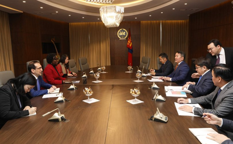Ерөнхийлөгч Дэлхийн банкны дэд ерөнхийлөгчийг хүлээн авч уулзлаа