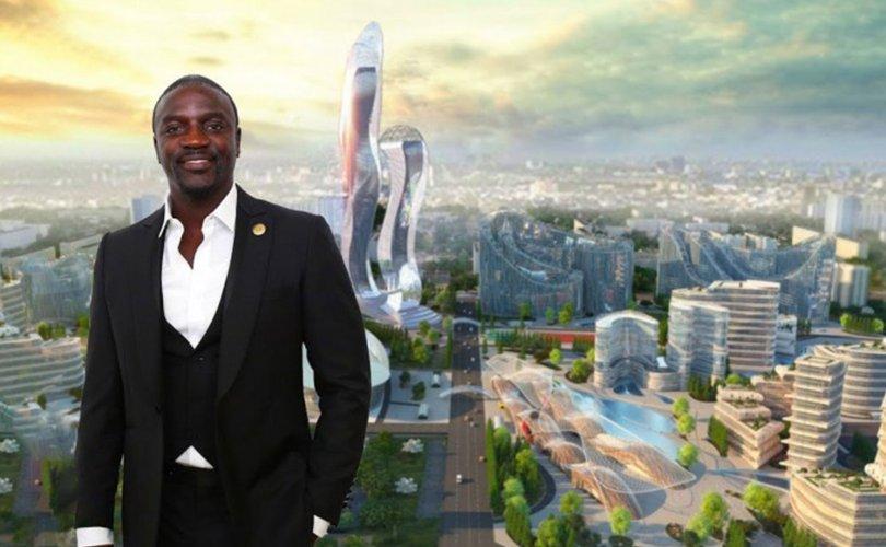 Дуучин Akon өөрийн нэрээр хот байгуулна
