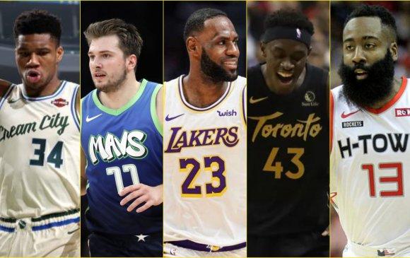 NBA : Бүх оддын тоглолтын гарааны бүрэлдэхүүнийг зарлалаа