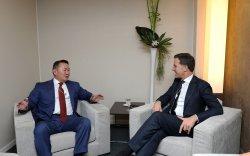Нидерландын Хаант Улсын Ерөнхий сайд Марк Руттэ Ерөнхийлөгч Х.Баттулгад бараалхлаа