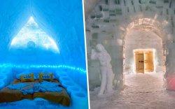 Мөсөн зочид буудал барих боломжгүйд хүрчээ