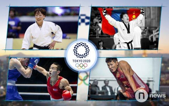 Олимпийн эрхийн төлөө зодоглох Монгол тамирчид