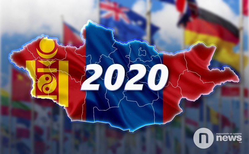 Монгол Улсын 2020 оны төлөв гадаадынхны нүдээр