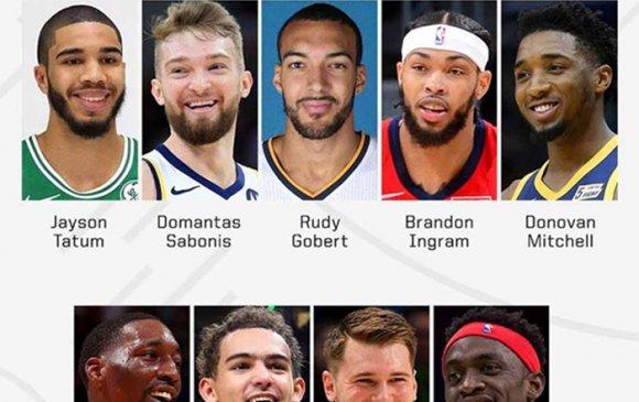 NBA-н бүх оддын тоглолтын сэлгээний тамирчид зарлагдлаа