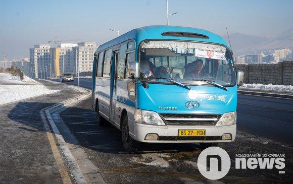 Богд уулын чиглэлд 6 автобус 11 минутын зайтай үйлчилж байна
