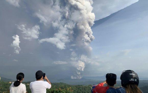 Филиппиний Таал галт уул дахин оргилж магадгүй