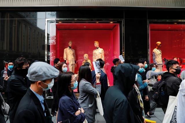 Хонконгод олон зуун хүнийг баривчилжээ