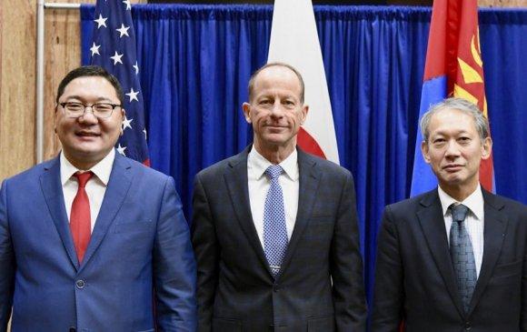 Монгол, АНУ, Японы гурван талт уулзалт болов