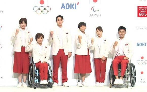 Япон олимпийн наадмын нээлтэнд өмсөх хувцсаа танилцууллаа