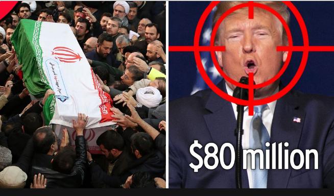 Трампын толгойг авчирсан хүнд 80 сая доллар амлажээ