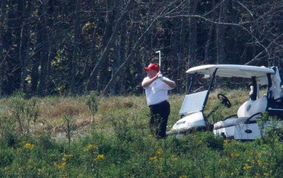Дональд Трамп таван өдөрт нэг удаа гольф тоглодог
