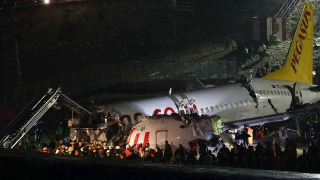 """Турк: 177 хүнтэй """"Boeing 737"""" онгоц осолджээ"""