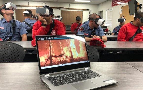 Ирээдүйн гал сөнөөгчдийг виртуал орчинд бэлдэж байна
