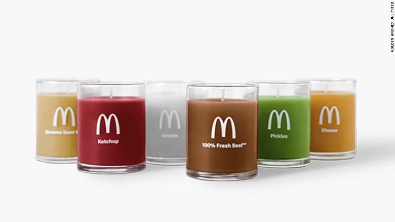 McDonald's бургерийн үнэртэй лаа бүтээжээ