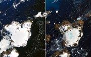 Антарктидын цасны 20 хувь ес хоногийн дотор хайлжээ