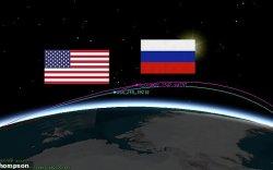 АНУ-ын хиймэл дагуулыг Оросын хиймэл дагуулууд мөрдөж байна гэв