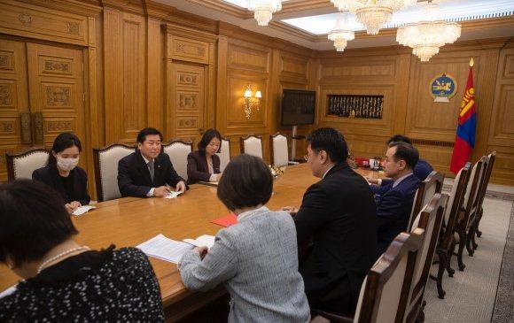 Ерөнхий сайд БНСУ-аас Монгол Улсад суугаа Элчин сайдыг хүлээн авч уулзав