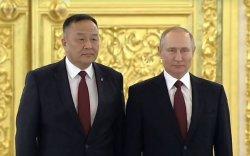 Элчин сайд Д.Даваа ОХУ-ын Ерөнхийлөгч В.Путинд Итгэмжлэх жуух бичгээ барив
