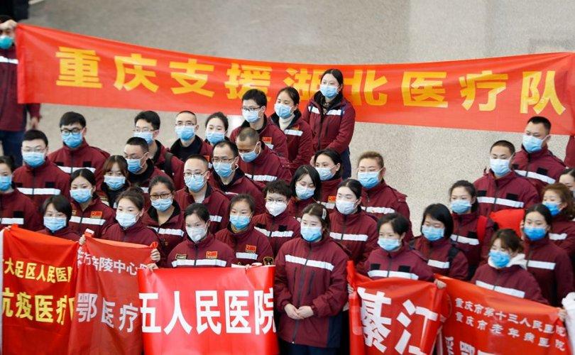 Хятад: 8,310 хүний бүрэлдэхүүнтэй эмч нарын баг Хубэй мужийг зорилоо