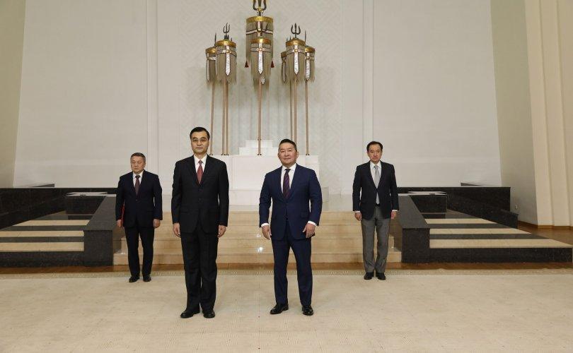 Элчин сайд Цай Вэньруй Итгэмжлэх жуух бичгээ өргөн барилаа