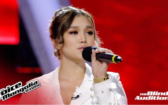 """Гавьяат жүжигчин Х.Үнэнхүүгийн охин """"The Voice of Mongolia"""" шоуг """"уяраав"""""""