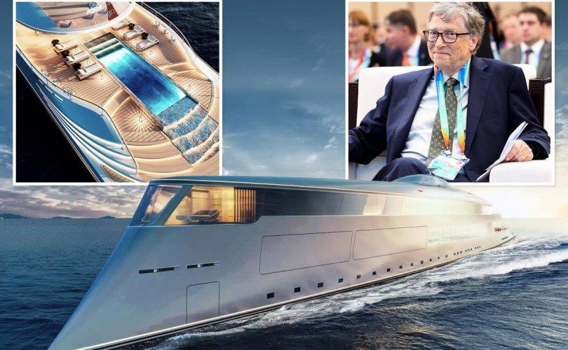 Билл Гэйтс дэлхийн анхны устөрөгчөөр ажилладаг хөлгийн эзэн болно