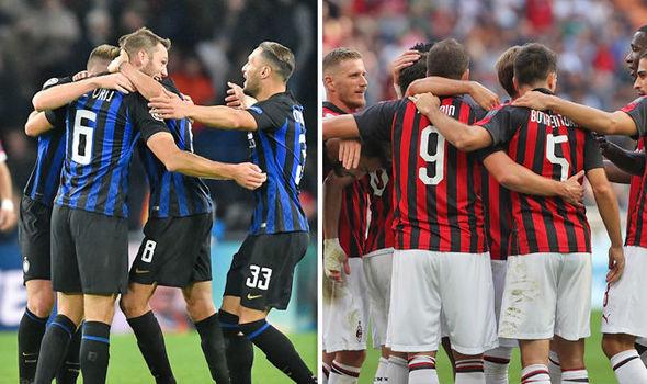 """Миланы дербид """"цэнхэрүүд"""" гайхалтай эргэн ирж, ялалт байгууллаа"""
