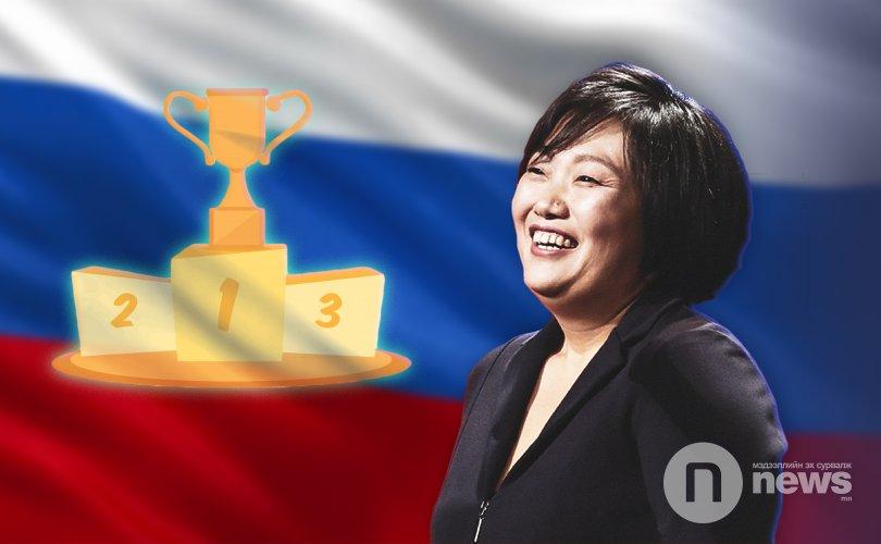 Оросын хамгийн баян эмэгтэй