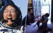 Сансрын нисгэгч бүсгүй 328 хоногийн дараа нохойтойгоо уулзжээ