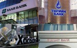 Банкуудын ажиллах цагийн хуваарь