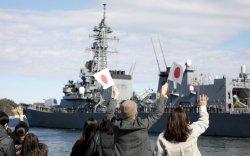 Япон байлдааны хөлгөө Ойрхи-Дорнод руу илгээв