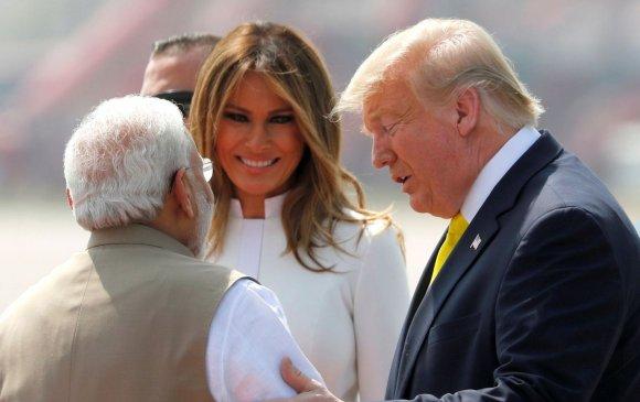Трамп Энэтхэг улсад албан ёсны айлчлал хийж байна
