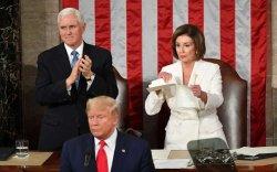 Трампад гомдсон Нанси Пелоси мэдэгдлийг нь урж хаяв