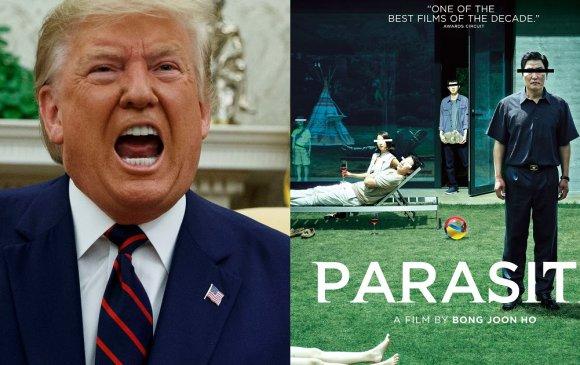 """""""Шимэгч"""" кино Оскар хүртсэнд Трамп дургүй байна"""