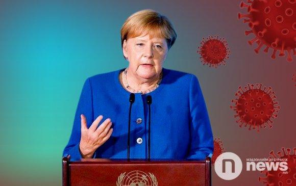 Ангела Меркелийг үзсэн эмчээс коронавирусийн халдвар илэрчээ