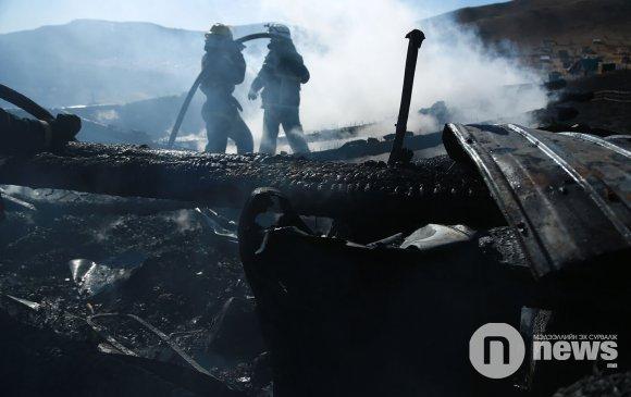 ОБЕГ: Гал түмрийн улмаас 6-42 насны гурван хүн нас баржээ
