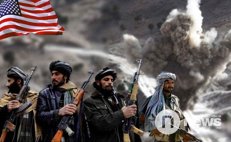 АНУ Талибаныг бөмбөгдлөө