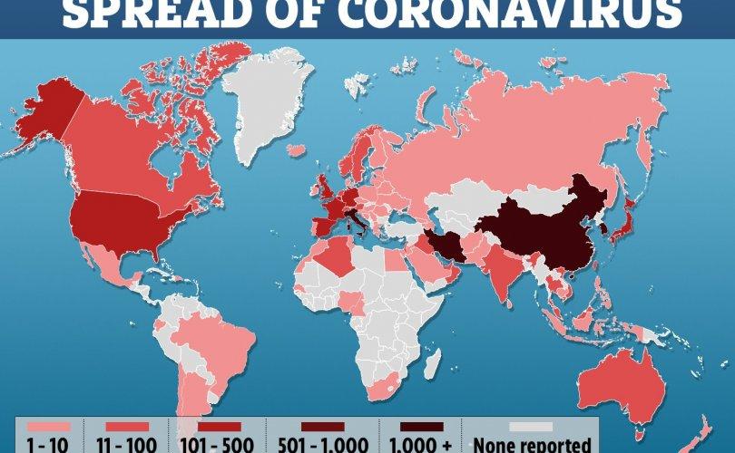 Covid-19: Хоногт 80184 шинэ тохиолдол, 5712 нас баралт бүртгэгджээ