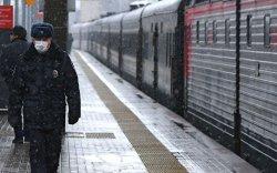 Москва-Ниццагийн чиглэлийн галт тэрэгний хөдөлгөөнийг түр зогсоолоо