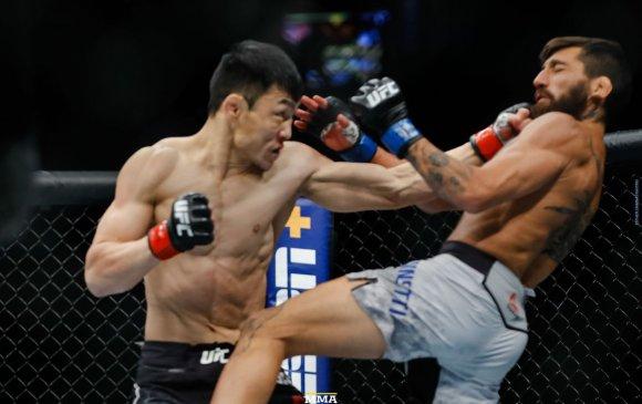 UFC: Д.Батгэрэл өрсөлдөгчөө хүнд цохилтоор яллаа