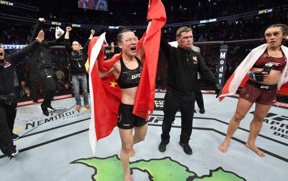 UFC 248: Исраель Адесанья, Вейли Чжан нар бүсээ хамгааллаа